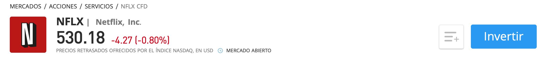 Netflix eToro